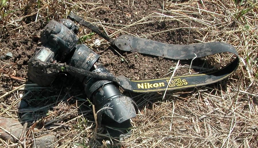 Damaged-Nikon-D3S