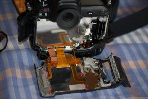 Nikon D3 démontage LCD 2