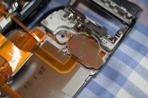 Nikon D3 démontage LCD 3