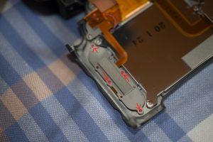 Nikon D3 démontage LCD 1